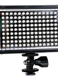 TRIOPO TTV-126 LED para la videocámara DV DSLR - Negro