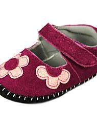 Chaussures bébé - Acajou - Habillé / Décontracté - Cuir - Plates