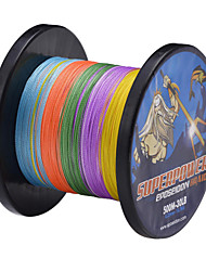 500M 80LB multicolore 0,50 mm 36,4 kg 4 brins 100% PE Spectra fibre Dyneema Ligne de pêche tressée