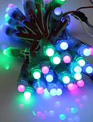 GOESWELL ™ WS2811 LED Pixel String Light 50Pcs/String 12mm DC 5V RGB-Farbe für Channel Brief Weihnachtsbaum