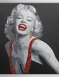 Hand Painted Oil Painting People Forever Marilyn 04