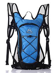 Sac de Vélo 15LSac de Randonnée Pack d'Hydratation & Poche à Eau Séchage rapide Respirable Vestimentaire Sac de Cyclisme Nylon 420D