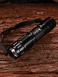 Key Chain Flashlights LED 1 Mode 350 Lumens Cree XP-G R5 14500 Multifunction - Others Aluminum alloy
