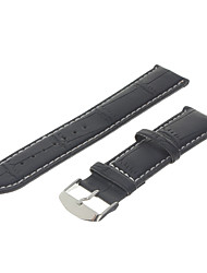 Pelle Uomo 20 millimetri Watch Band (colori assortiti)