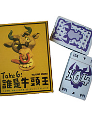 Take 6 Card Board Game for All Ages Puzzle Toy (104-Card)