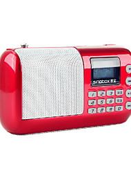 Singbox SV-V1 Mini Soporte portátil de altavoces TF / FM