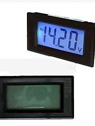 TS-303L Blue 3 1/2 LCD Digital panel Volt Meter 7.5-20V