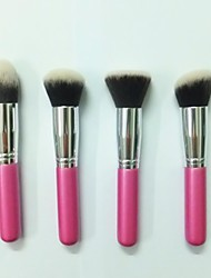 4Pcs High Quality Foundation Make-Up Brush Set