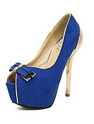 Talon aiguille Toe Suede femmes pompe des chaussures (plus de couleurs)