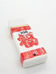 TCF2 2GB Ceramica Stile USB 2.0 Flash Drive