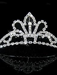 Wedding Silver Plated Tiaras Hair Jewelry