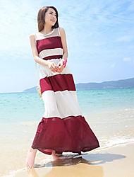 Women's Dresses , Chiffon Casual Lashabeney
