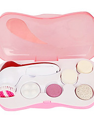 (6 In 1)Multi-Functional Electric Face Massage Beauty Device Facial Cleaner AE-8782A