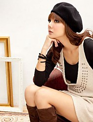 Women Polyester Beret Hat , Casual