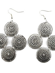 Aretes Kushang Hollow Disco Fashion