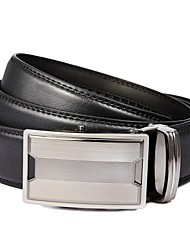 Evergold ® Herren H Art-Split-Leder Automatische Buckle Belt