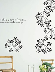 Botanical Bud Decorative Wall Stickers