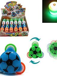 Sound and Light-up-Stil Fußball Peg-Top (zufällige Farbe)
