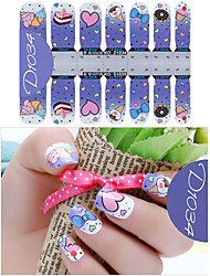 DF COLOR Manicure Forniture Nail Sticker Manicure Stickers (D1034)