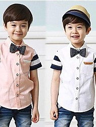 Boy's Cotton Blend Shirt,Summer Print