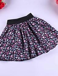 Patrón Girl'sFashion Nueva Pastoral StyleLittle Flower Design falda de los niños