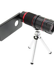 Увеличить 6-18X телефото Металл мобильного телефона объектива с треногой для IPhone 5S