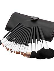 18pcs Sable Hair Professional Makeup Brushes Set