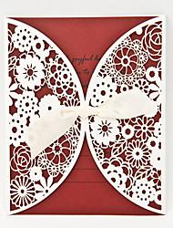 Hollow Design Wedding Invitation-Set of 50/20