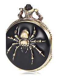 Masculino Relógio de Bolso Quartz Lega Banda Bronze marca-