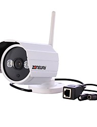 zoneway® nc628mw-p 720p outdoor ONVIF Wi-Fi de rede sem fio da sustentação da câmera ip movimento detectioin, p2p