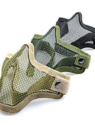 Estate Ventilazione Tipo Semi Acciaio Protezione viso basso tenore di carbonio Net Mask