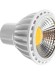 GU10 1 COB 450-480 LM Warm White / Cool White LED Spotlight AC 100-240 V