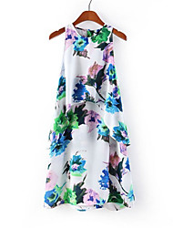 Laurel Women's Laminate Printing Dress(Screen Color)