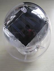 7 couleurs changeant la lampe arc-en-piscine solaire imperméable à l'eau de boule de LED flottante