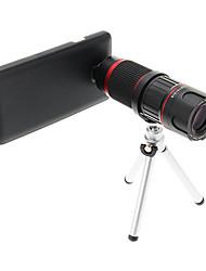 Увеличить 6-18X телефото Металл мобильного телефона объектива с треногой для Samsung Note3
