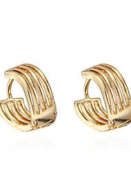 BIN BIN Women's 18K Gold Zircon Earings ER0553