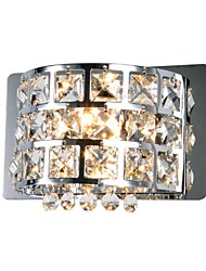 Crystal Flush Mount wall Lights,Modern/Contemporary G4 Metal