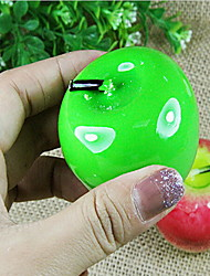 Lifelike verde e Red Apple Design Matrimonio Candele (colore casuale)