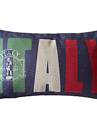 Crazy Love To The Great Itally Decorative Pillow Cover