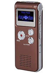 Newest 8G MP3 Digital Voice Recorder (Coffee)