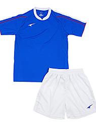 les maillots de football de l'enfant (bleu et blanc / France)