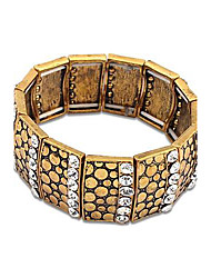 Women's Europe and the United exotic personality Wide Stretch Bracelet
