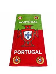 Coupe du monde Portugal Plage Salle de Gym Serviette de bain