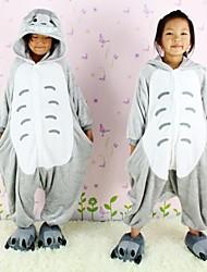NEWCOSPLAY Totoro flanela versão WC Crianças Kigurumi Pajama