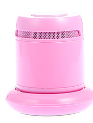 SCORO Bluetooth V4.0 Speaker with TF / Charging Dock for Cellphone (Pink)