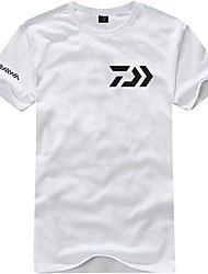 Os homens de Esportes engraçado 3D Camiseta Daiwa impresso para a pesca da equipe Fãs
