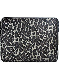 "TWP Dark Gray Leopard Notebook Laptop Bag for 14"" Laptop HP /DELL /SONY /Toshiba /Asus /Acer"