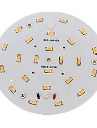 10W Plafonniers 24 SMD 5730 800-900 lm Blanc Chaud Décorative AC 100-240 V