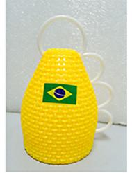 2014 Copa do Mundo Caxirola fãs comemoram Props (Amarelo)