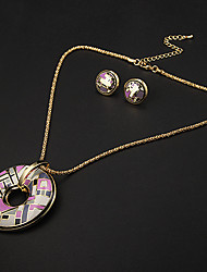 Party / Daily / Casual-Necklaces / Earrings(Gold Plated)
